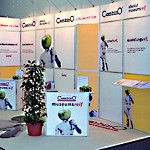 Messestand mit CombinO® Messesystem